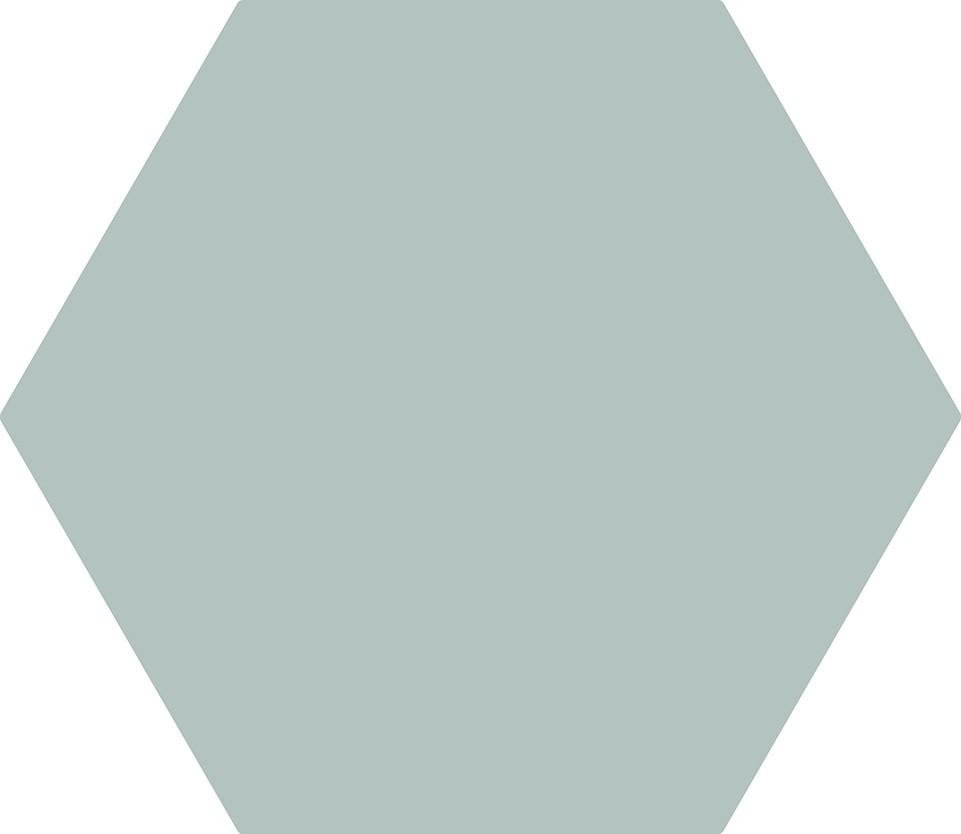 Hexagonal Cinza