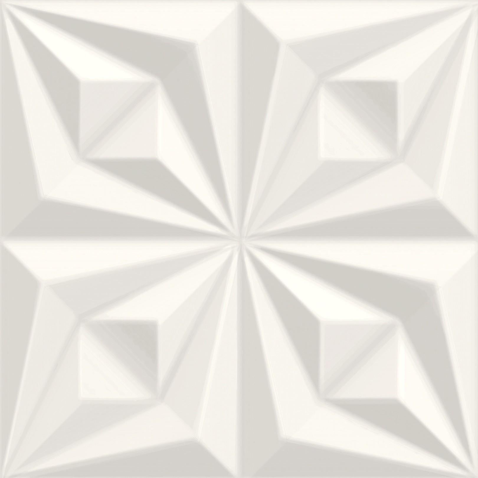 Drapeado Branco 3D Ceusa