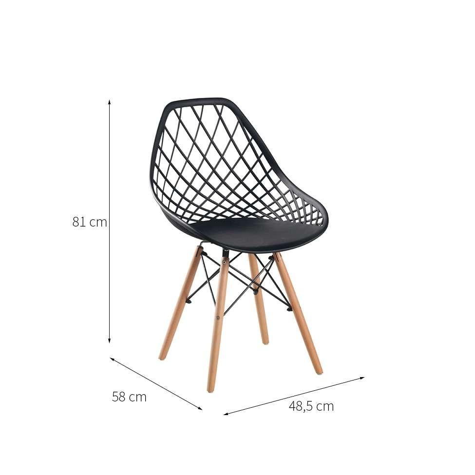 Cadeira Cloe Preta
